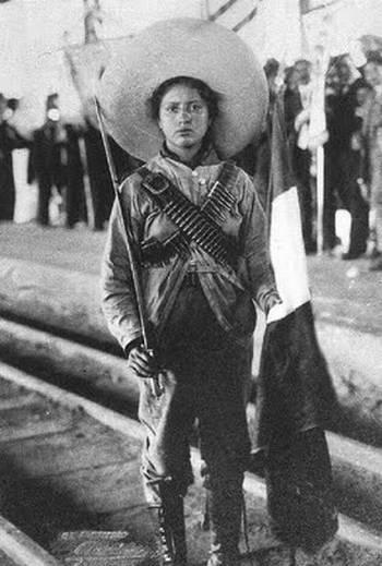 mujeres importantes en la revolucion mexicana: